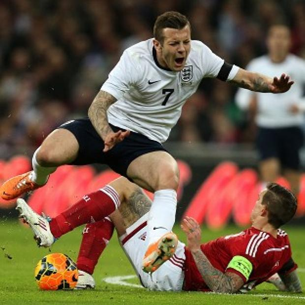 Burnley and Pendle Citizen: Jack Wilshere is close to a comeback from the foot injury picked up against Denmark
