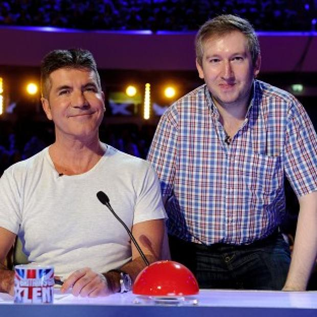 Burnley and Pendle Citizen: Contestant Simon Cowell meets his more famous namesake on Britain's Got Talent