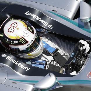 Lewis Hamilton seems the man to beat in Barcelona (AP)