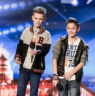 Bars And Melody (Charlie Lenehan and Leondre Devries) say they'd love to have One Direction's success