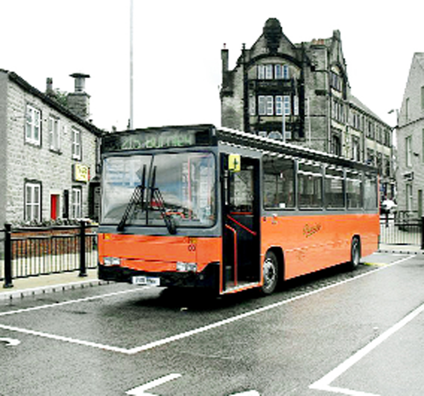 Pennine Motors' orange and black buses have been a familiar sight on roads for many decades