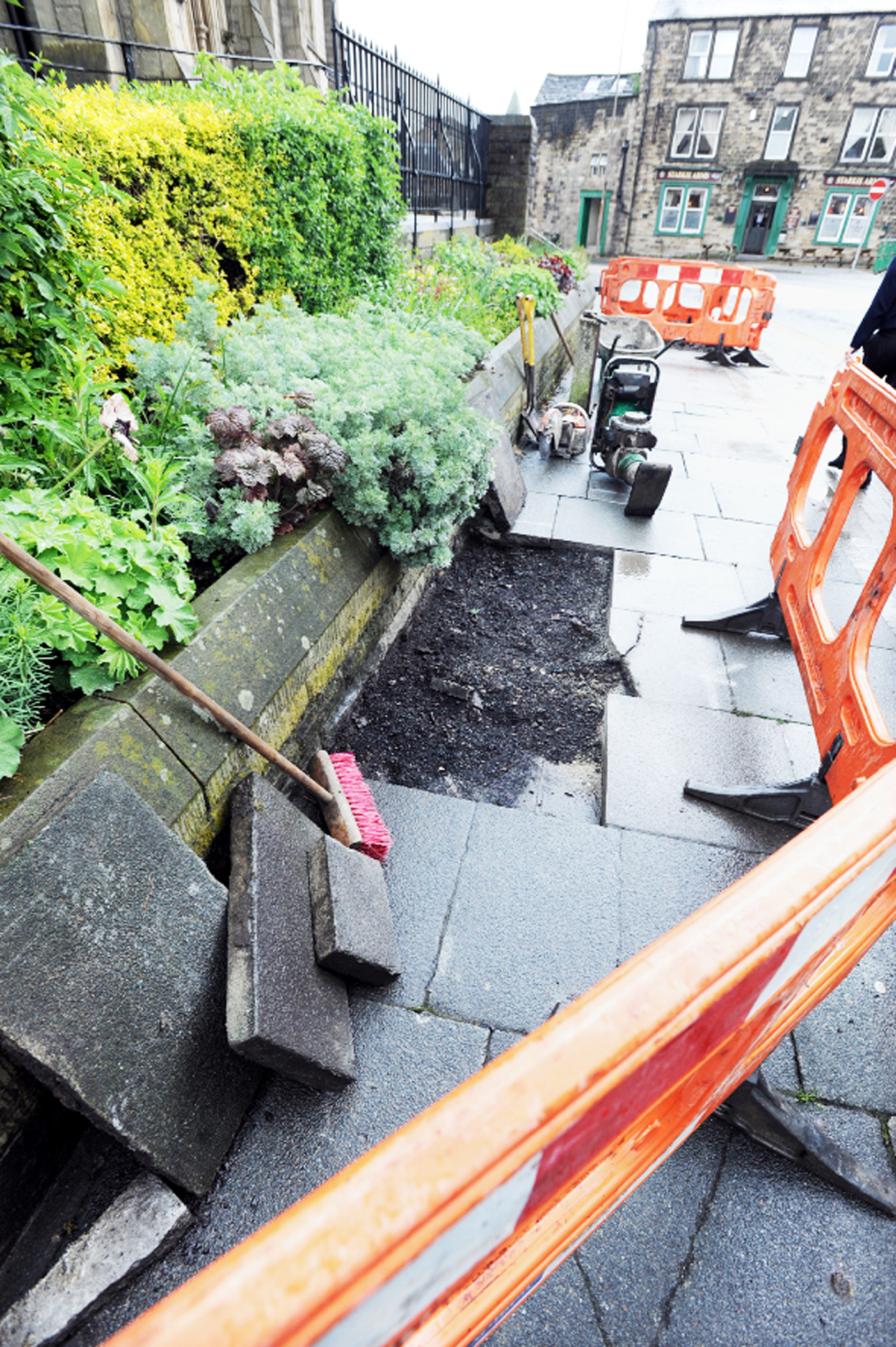 Skeleton found under Padiham pavement