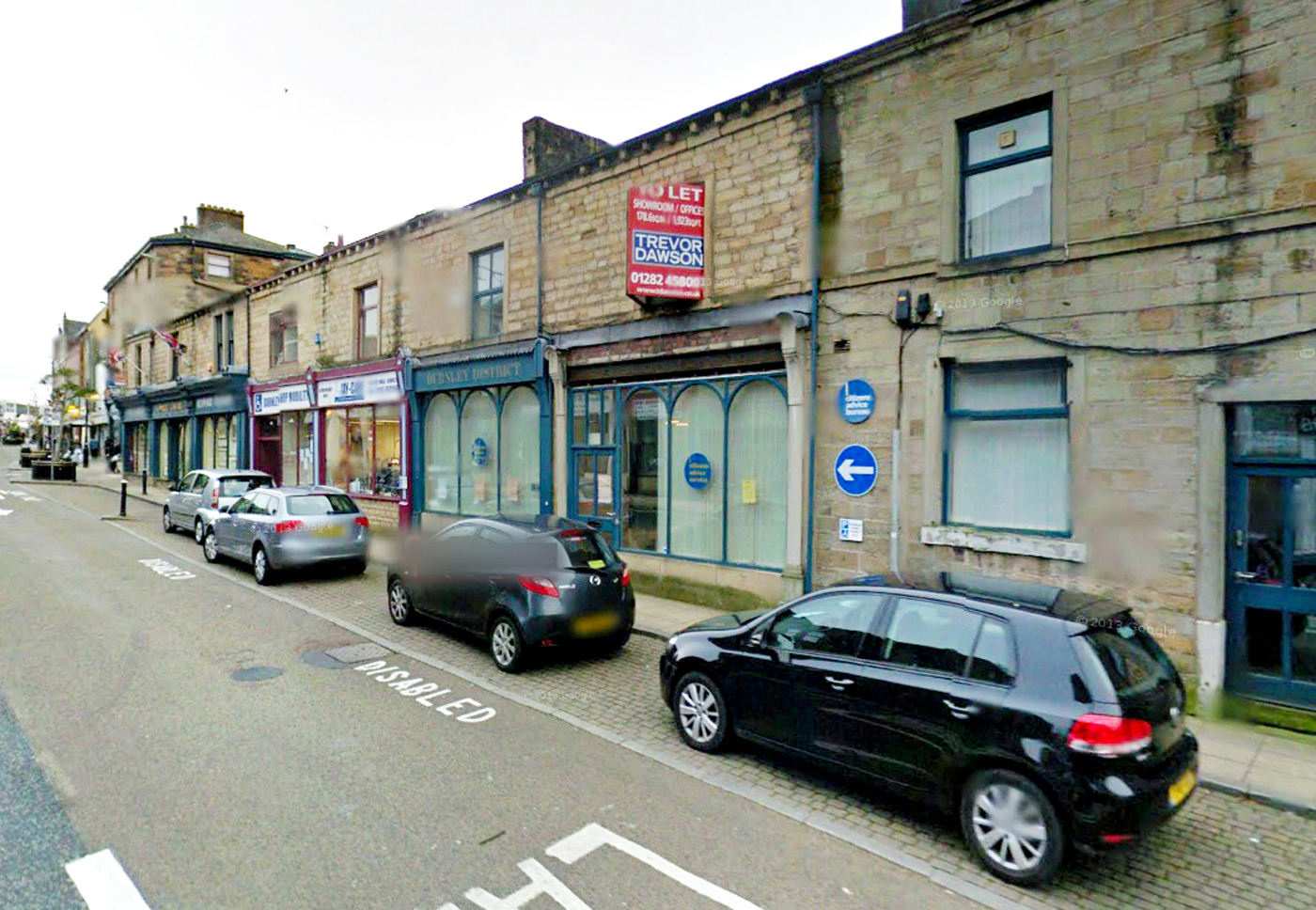 The CAB office in Burnley which is being put up for sale