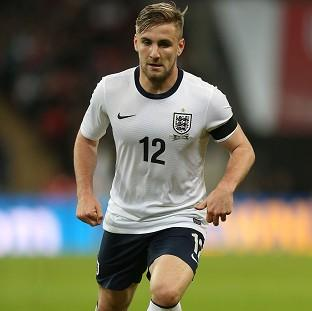 Luke Shaw, pictured, is ready to move to a big club, according to Michael Owen