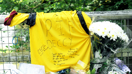 Hundreds of people leave messages for tragic Burnley teenager Declan Edwards