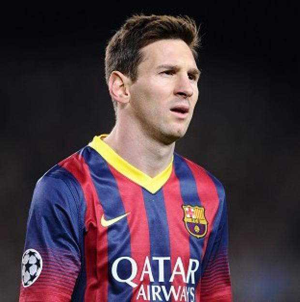 Burnley and Pendle Citizen: Lionel Messi has only played for Barcelona since making his debut in 2004