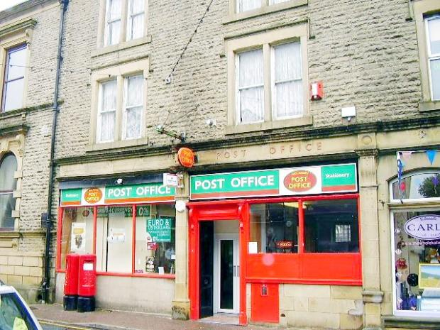 Haslingden Post Office is to be moved into a store further down the road