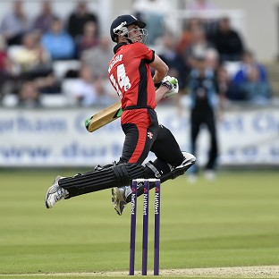 Calum MacLeod top-scored for Durham with an unbeaten 80