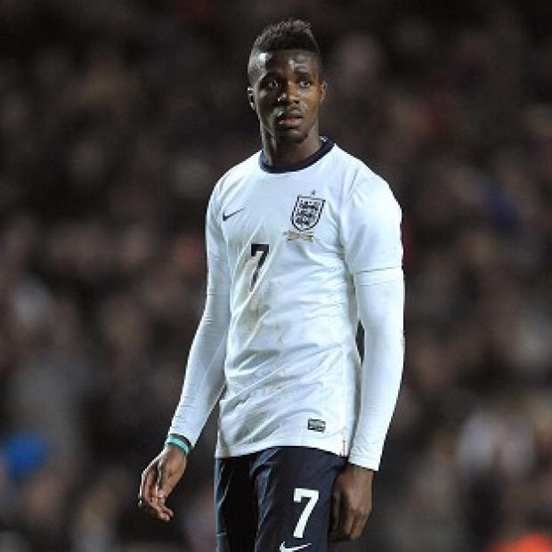 Burnley and Pendle Citizen: Wilfried Zaha has been ruled out of Monday's England Under-21 match against Wales
