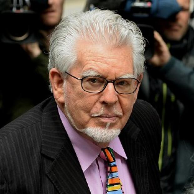 Burnley and Pendle Citizen: Rolf Harris denies the charges.