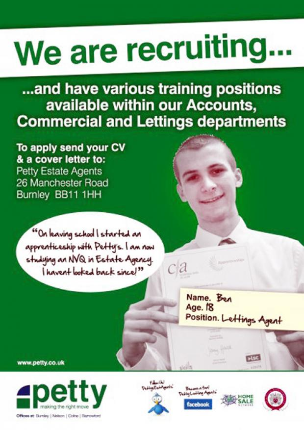 Burnley and Pendle Citizen: Ben Thomas Cryer featured in recruitment drive