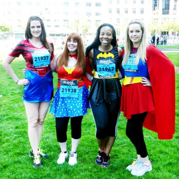 Burnley and Pendle Citizen: Staff from Curtis Law Solicitors, from left, Shonagh Horgan, Joanne Lever, Nkolika Oraka, Danielle Howarth