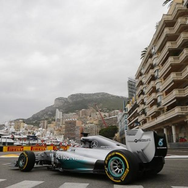 Burnley and Pendle Citizen: Mercedes driver Lewis Hamilton led the way in first practice for the Monaco Grand Prix (AP)