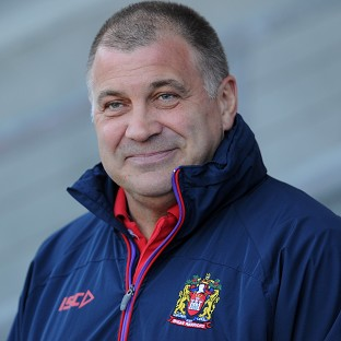 Shaun Wane was a happy man after the win over Salford