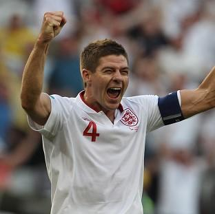 Burnley and Pendle Citizen: England's Steven Gerrard is in a positive frame of mind ahead of the World Cup