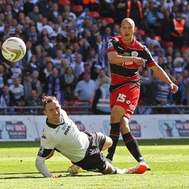 Burnley and Pendle Citizen: Bobby Zamora's last-gasp goal lifted QPR to victory in the play-off final at Wembley