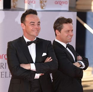 Anthony McPartlin and Declan Donnelly are guest judges