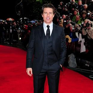 Tom Cruise attended the world premiere of Edge Of Tomorrow in London