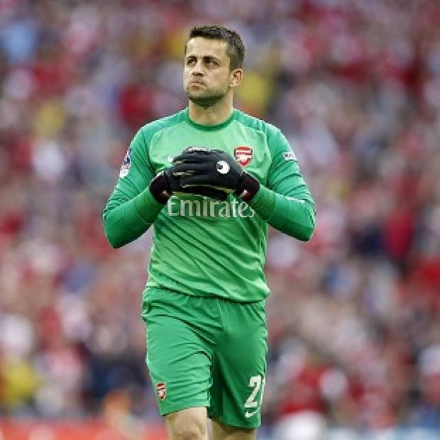 Burnley and Pendle Citizen: Lukasz Fabianski ended his Arsenal career on a high at Wembley
