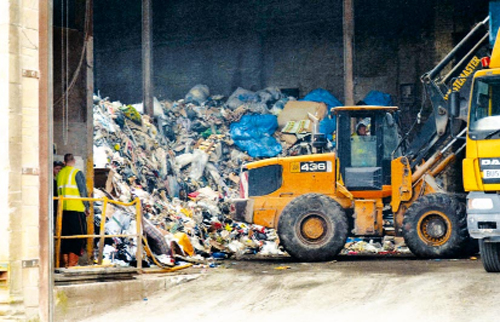 The site at Oxford Mill will no longer take domestic waste