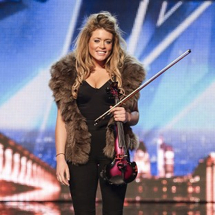 Lettice Rowbotham said she was happy for Simon Cowell to offer criticism