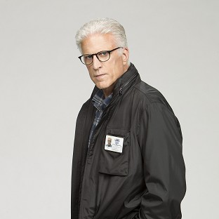 Ted Danson plays CSI supervisor DB Russell in CSI: Crime Scene Investigation