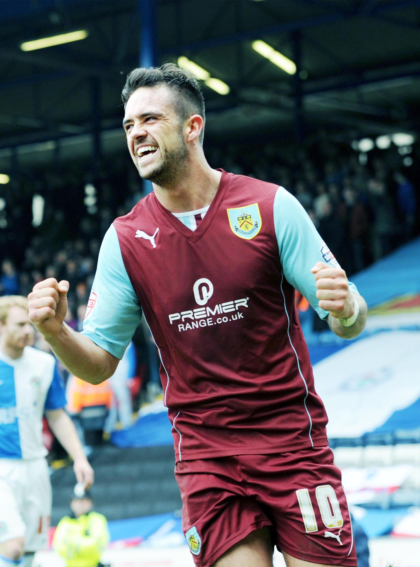 Clarets star gives young fan a season ticket in surprise visit