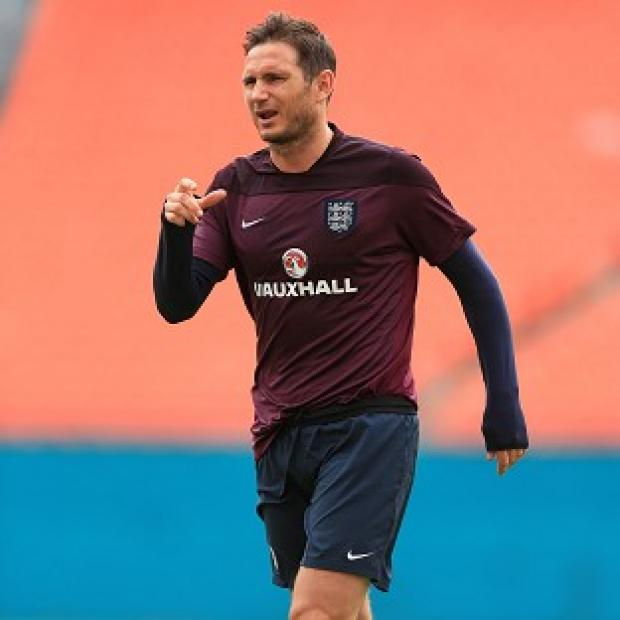Burnley and Pendle Citizen: Frank Lampard, pictured, will lead England in Steven Gerrard's absence