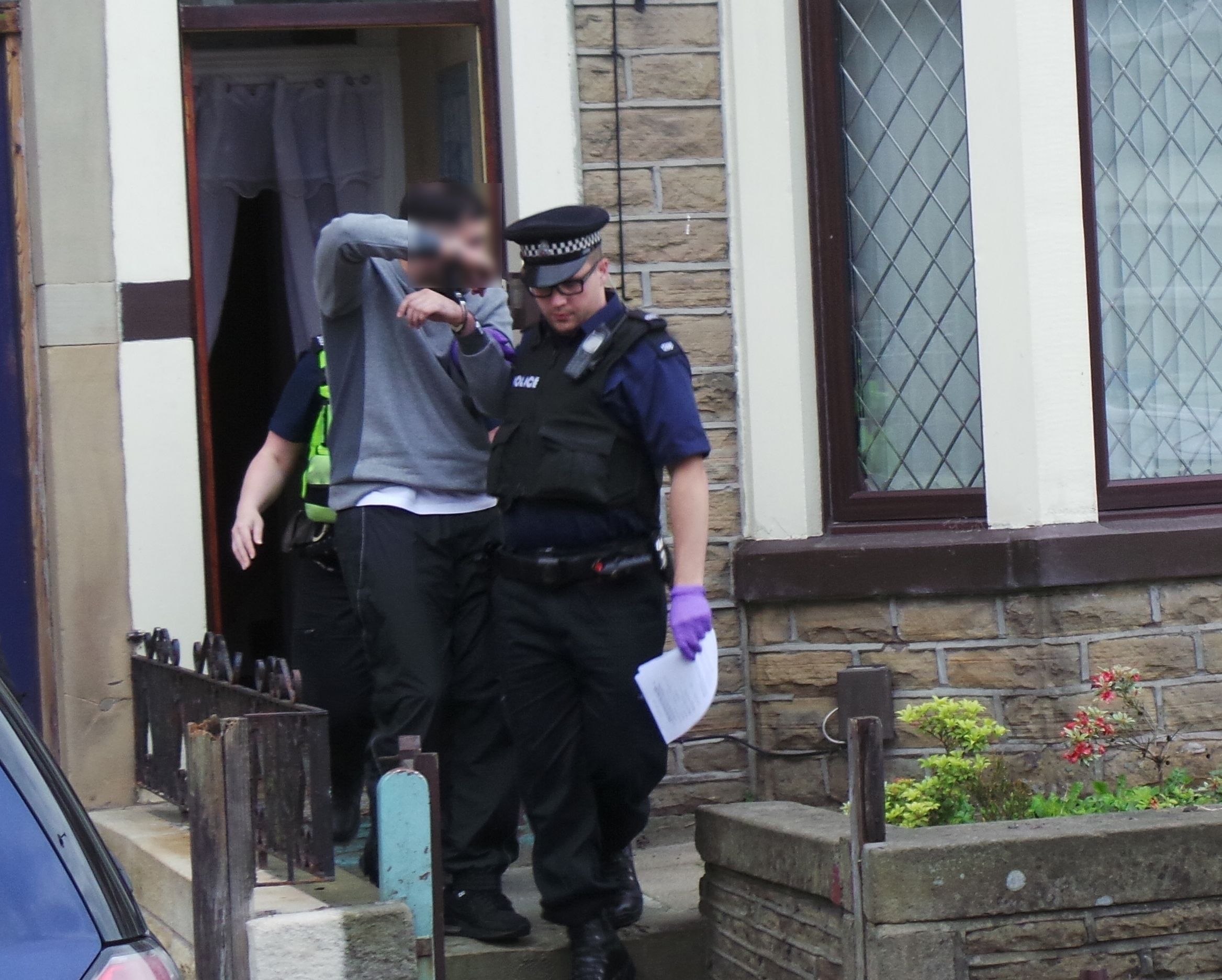 Seven charged after £250k East Lancs drugs raids