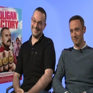 Nick Nevern and Jason Maza star in The Hooligan Factory