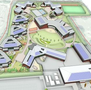 Burnley and Pendle Citizen: An artist's impression of a planned 'secure college' for young offenders (Ministry of Justice/PA)