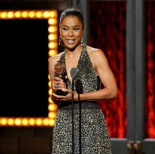 Burnley and Pendle Citizen: Sophie Okonedo accepts her award for best performance by an actress in a featured role (Invision/AP)