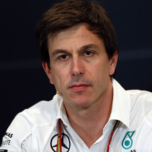 Toto Wolff, pictured, apologised to Lewis Hamilton for his car failure