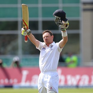 Ian Bell made three centuries in England's Ashes series last summer