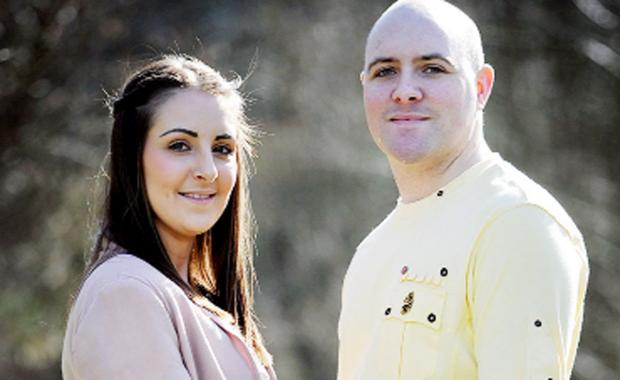Burnley and Pendle Citizen: Tom and wife Tammy Cooper
