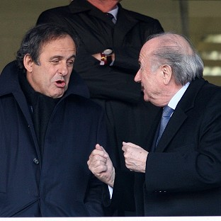 Michel Platini, left, has lent his support to Sepp Blatter in the past