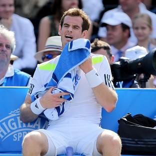 Andy Murray crashed out of Queen's with a third-round defeat to Radek Stepanek