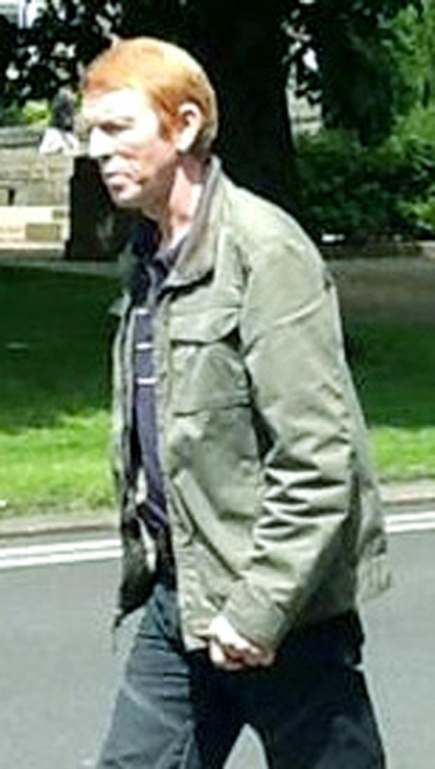 Burnley and Pendle Citizen: Steven Higgins, who was caught climbing on to a wall