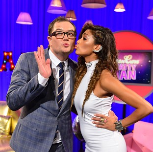 Nicole Scherzinger told Alan Carr that The X Factor was at its best with her on it (Open Mike)