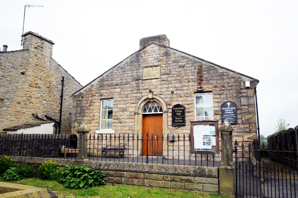 Salterforth Baptist Church and village hall will feature in the heritage trail