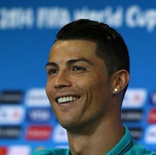 Burnley and Pendle Citizen: Cristiano Ronaldo declared himself fully fit at a press conference