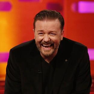 Ricky Gervais enjoyed a chat with 'God' on Twitter