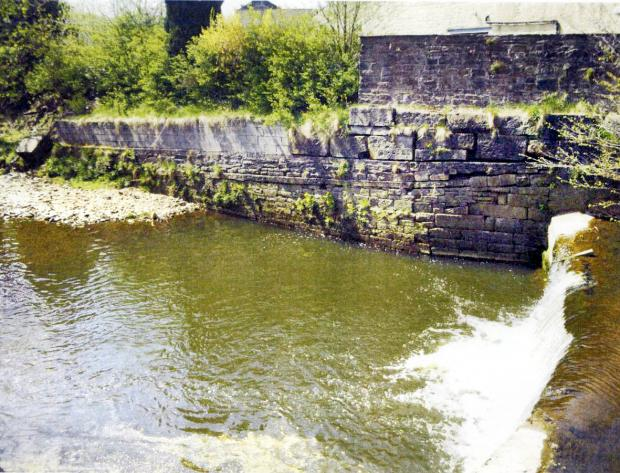 Rock ramp on East Lancs weir will help boost fish numbers