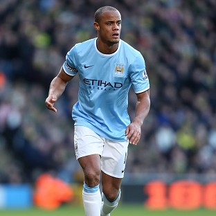 Vincent Kompany, the Belgium captain, missed training on Thursday with a groin strain