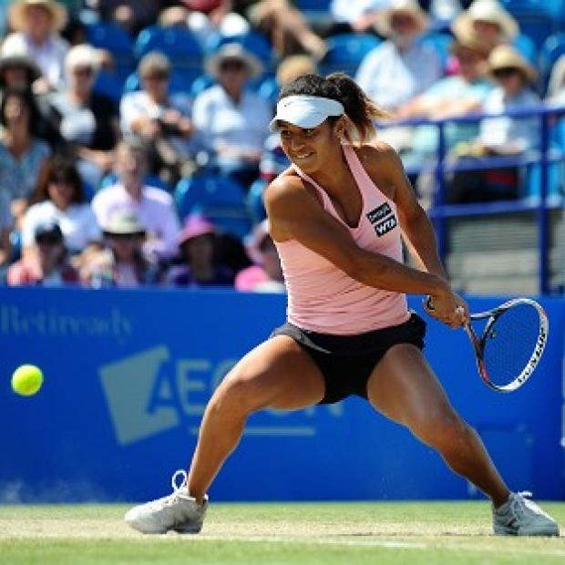 Burnley and Pendle Citizen: Heather Watson failed in her bid to make the final in Eastbourne