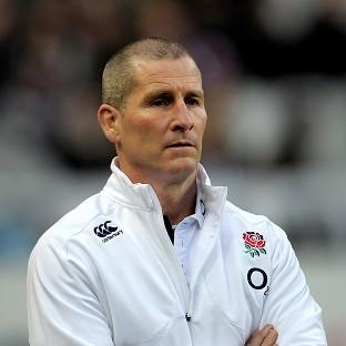 Stuart Lancaster was far from happy with England's first half display