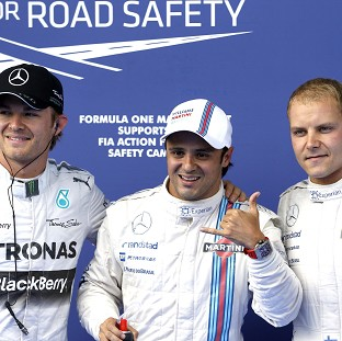 Massa leads Williams lock-out