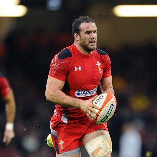 Jamie Roberts had scored a try for Wales
