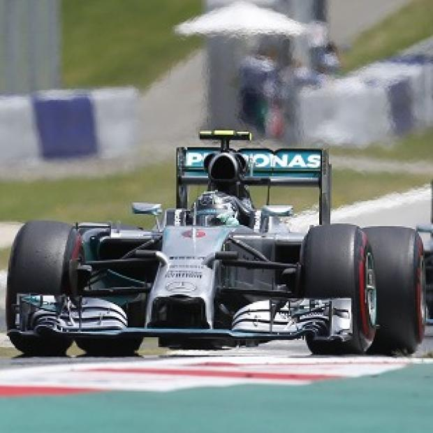 Burnley and Pendle Citizen: Nico Rosberg emerged victorious for the third time this season with a win in Austria (AP)