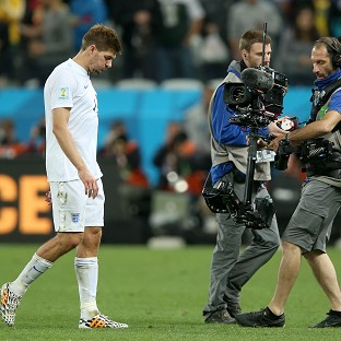 Steven Gerrard says he has yet to decide whether he will continue to play for England